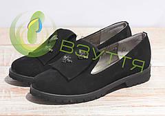 Туфли замшевые женские Salina 0515 ч/з 38,39 размеры