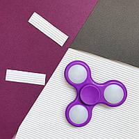 Классический LED из пластика, фиолетовый, Spinner (77-88-99)