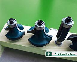 Набор концевых фрез Stehle по дереву для ручного фрезера, 10 шт., фото 3