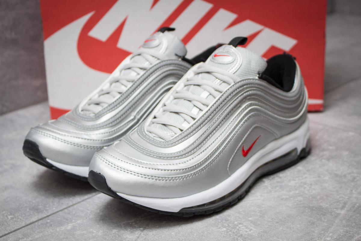 Кроссовки мужские Nike Air Max 98, серебряные (14174) размеры в наличии ►(нет на складе)