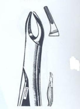 Щипцы для удаления верхних корней №76N (Пакистан) NaviStom