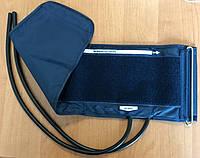 Манжета для плеча нейлоновая УЛУЧШЕННАЯ как на Microlife с резиновая камерой 2-тр. 22-32 см., фото 1