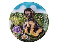 Тарелка декоративная Lefard Собачка 20 см 59-168