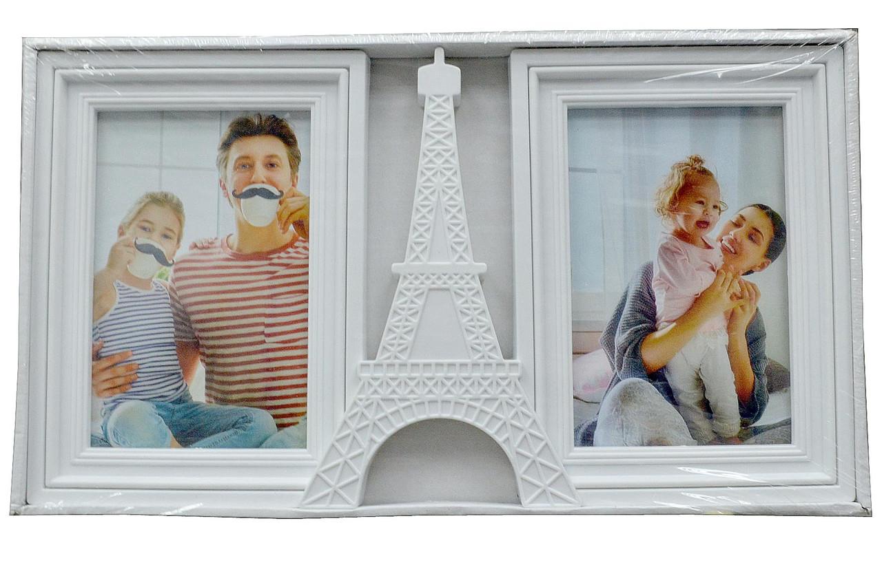 "Мультирамка - коллаж из пластика ""PARISE"" (рамка для фотографий на стену)"