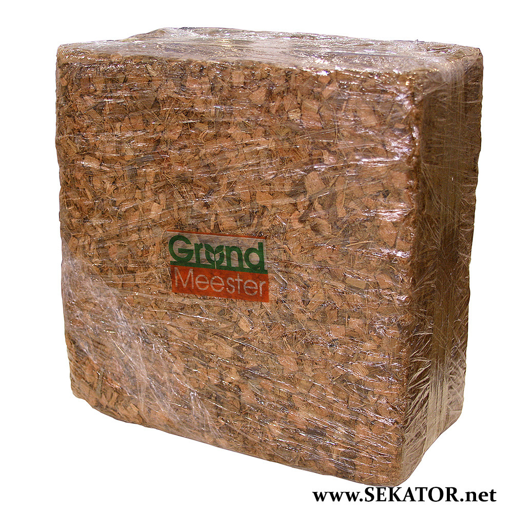 Кокосовий блок GrondMeester UNI100SS, 4.5кг (100% кокосова чипса)