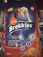Brekkies Exel Cat Delice Meat - 20 кг, фото 1