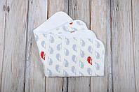 """Непромокаемая пеленка """"Киты"""" для новорожденного малыша (60*80 см) ТМ MagBaby 130014, фото 1"""
