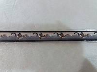 Бордюр обойный 2 см (синие)