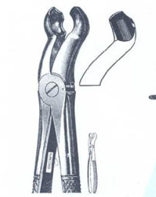 Щипцы для удаления верхних зубов мудрости Odgen-Felsch (Пакистан) NaviStom