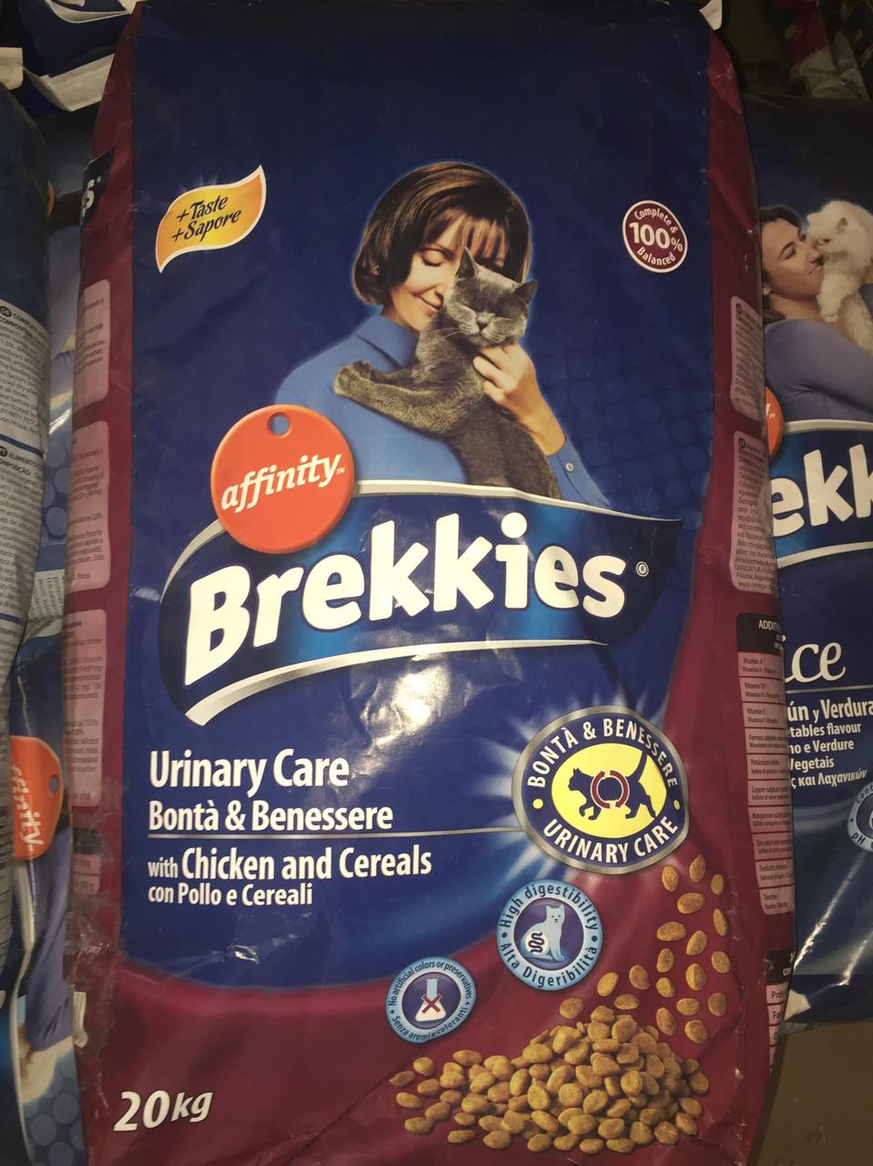 Brekkies Cat Excel Urinary Care - 20 кг