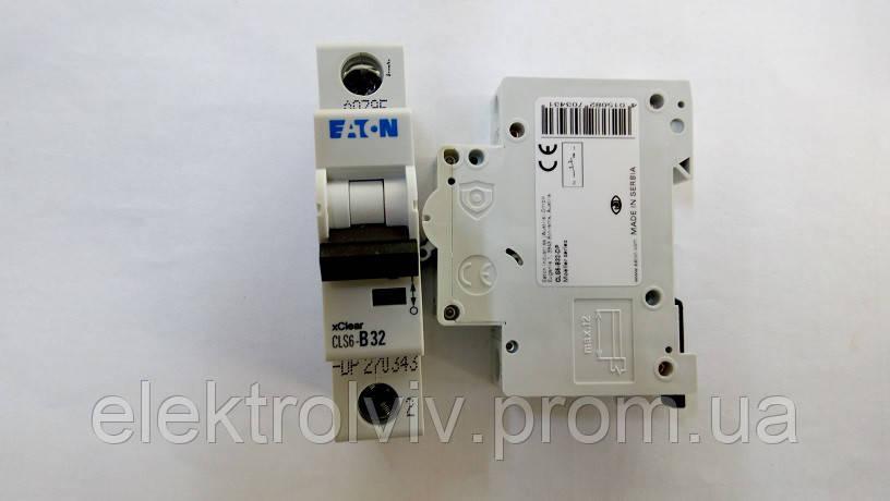 Автоматический выключатель Eaton CLS6-B32-DP