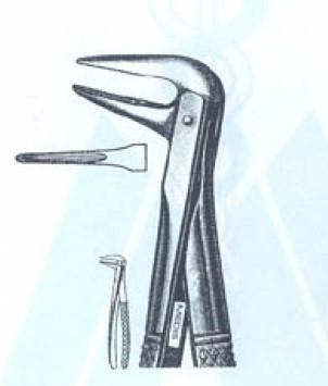 Щипцы для удаления нижних корней №233 (Пакистан) NaviStom