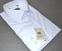 Белая классическая рубашка SALVATORE RUSSO (размеры 39.41.42.44.45. + под заказ)