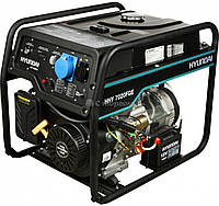 Гибридный генератор HYUNDAI HHY 7020FGE (5,5) кВт, фото 1
