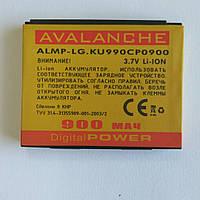 Аккумулятор Avalanche LG LG KU990 Viewty LGIP-580A 900mAh