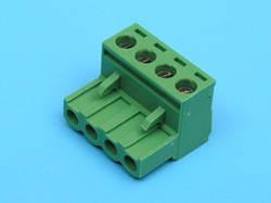 TLS4 Клеммник разрывной 4 контакта 10A шаг 5,08 мм