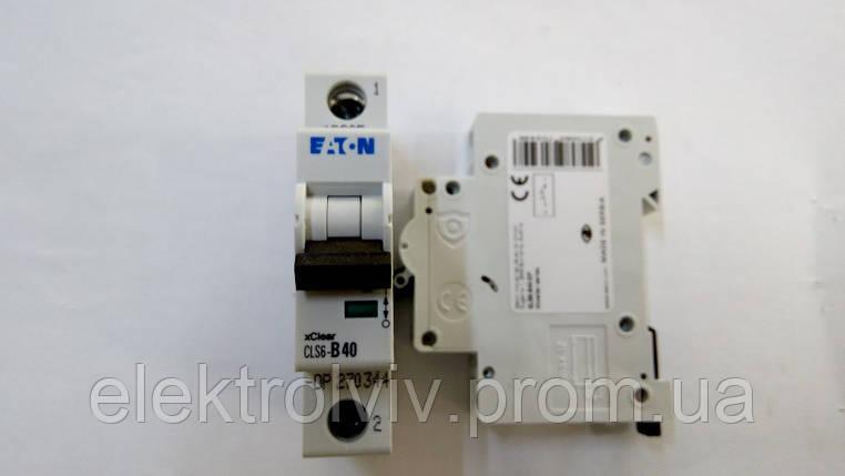 Автоматический выключатель Eaton CLS6-B40-DP, фото 2