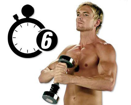 Тренажер Shake Weight (Шейк Уэйт) виброгантель - фото 3