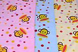 Качественное полотенце для лица из МИКРОФИБРЫ  с рисунком, приятные и яркие расцветки Полотенце - это эстетиче, фото 2