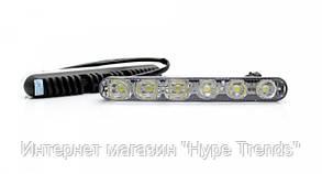 Светодиодные авто фары с поворотником. Дневные ходовые огни DRL-6-Y-W. ДХО. В Украине, в Одессе, фото 2