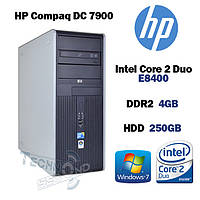 Системный блок HP Compaq DC 7900 | Intel Core 2 Duo E8400 | 4Gb DDR2 | 250Gb HDD