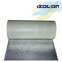 Изолонтейп 500 3010 10 мм, фольгированный, 1 м серый