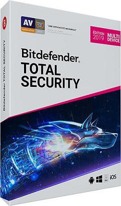 Bitdefender Total Security 3 Device 12 месяцев
