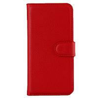 Чехол книжка на iPhone 5/5s/SE Flip Wallet красный