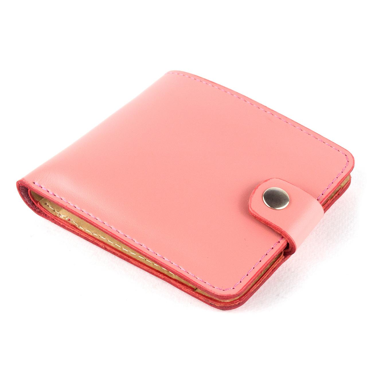Портмоне шкіряне жіноче П1-26 (ніжно-рожеве)