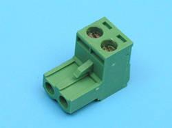 TLS2 Клеммник разрывной 2 контакта 10A шаг 5,08 мм