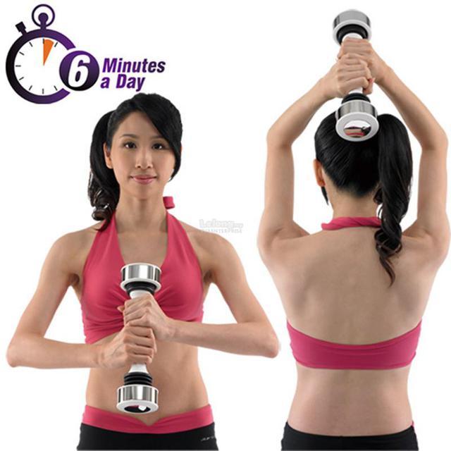 Тренажер Shake Weight (Шейк Уэйт) виброгантель - фото 5