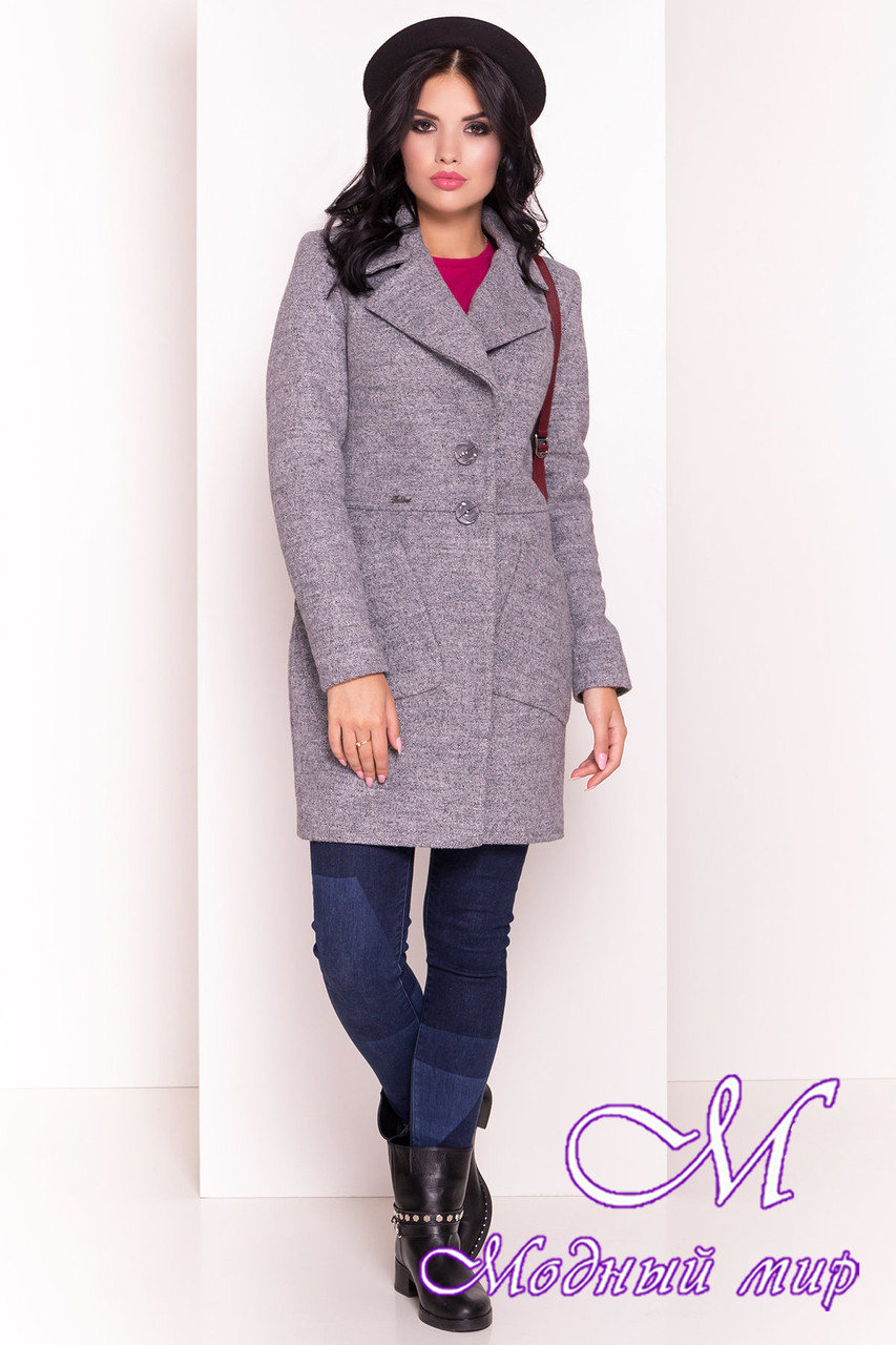 Демисезонное женское пальто (р. S, M, L) арт. Габриэлла 3293 - 16800