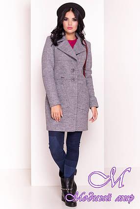 Демисезонное женское пальто — купить в интернет магазине одежды ... 7336227ddb5