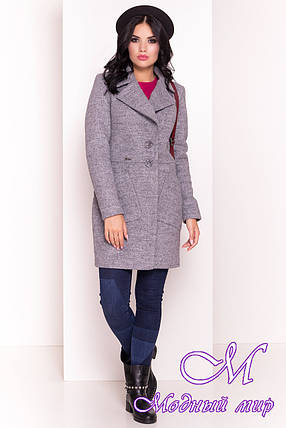 Демисезонное женское пальто (р. S, M, L) арт. Габриэлла 3293 - 16800, фото 2