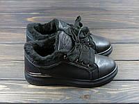 Ботиночки на меху черные Sopra, фото 1