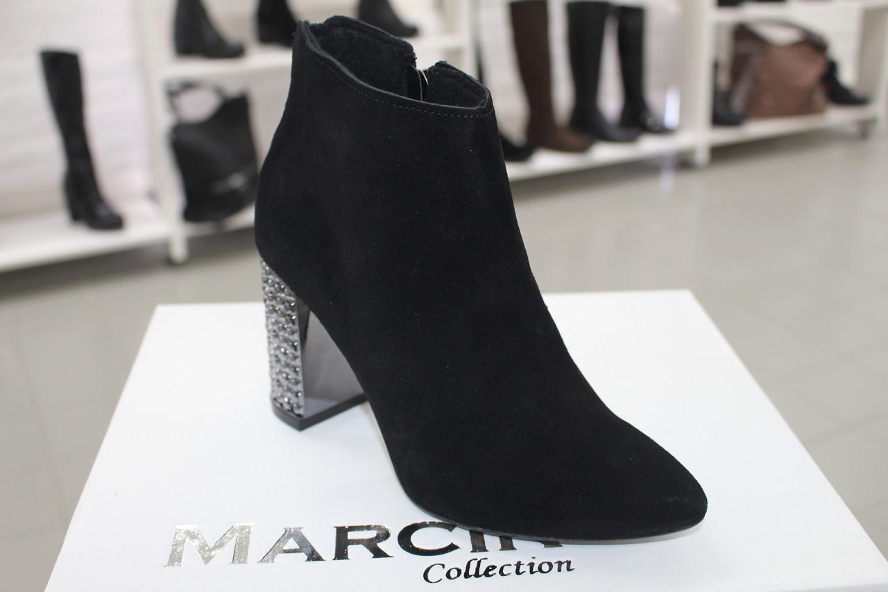 ... Стильні жіночі черевики на каблуку Marcin Collection Польща 1249edc4022d6