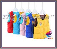 Пошив детских утепленных жилетов под заказ от 50 шт., фото 1