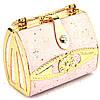 Необычная сумка-клатч розовая S04, фото 6