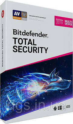 Bitdefender 2018 Total Security 10 Device 12 месяцев