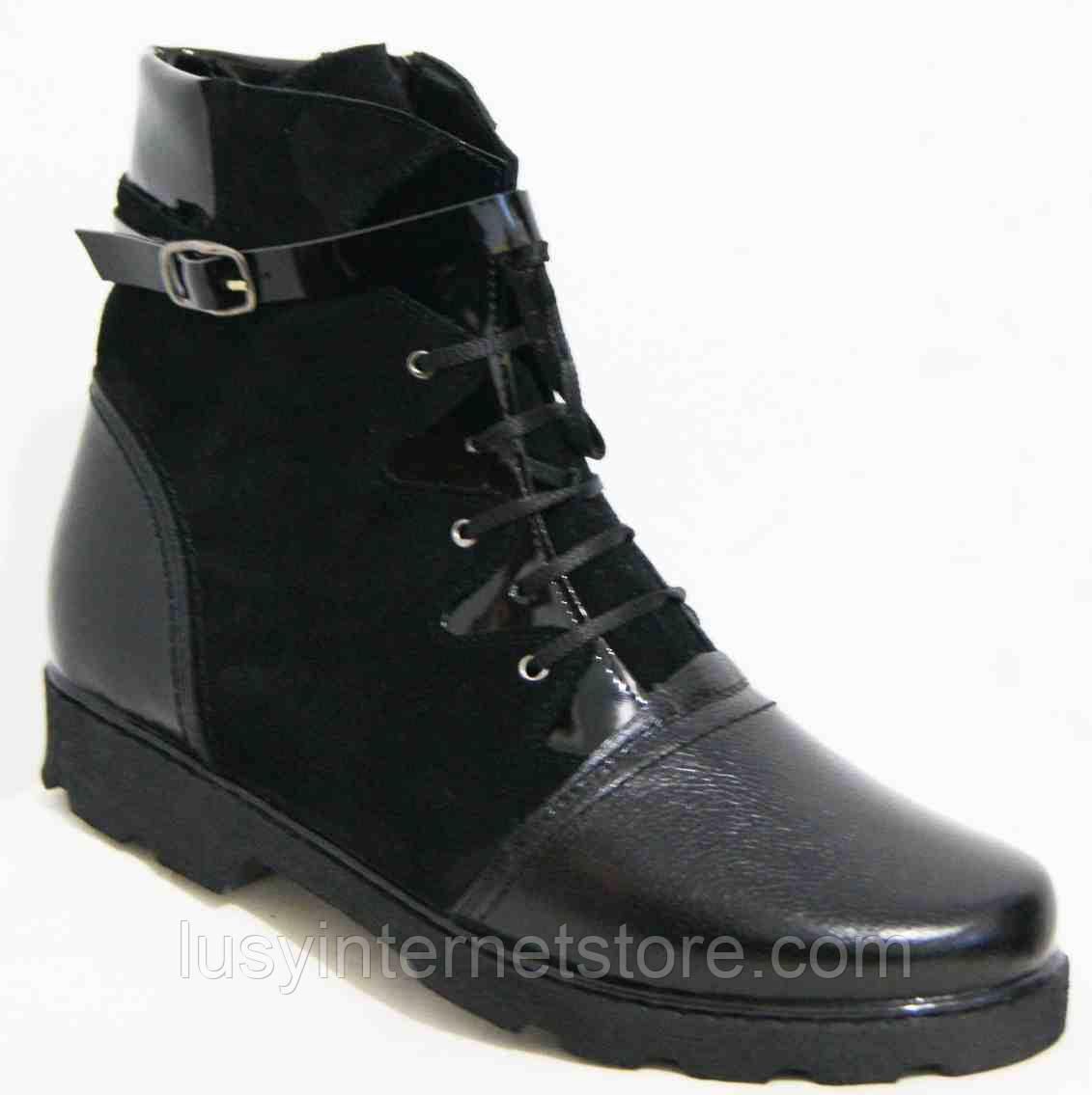c5b05fbfe Ботинки женские зимние большого размера , женская обувь больших размеров от  производителя модель МИ5193В