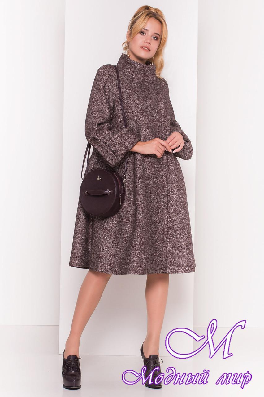 Женское демисезонное пальто трапеция (р. XS, S, M, L) арт. Ликия 16952 9931b38bb14