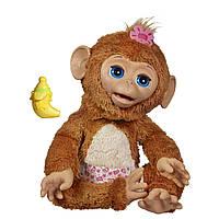 Интерактивная обезьянка Fur Real Friends Cuddles My Giggly Monkey Pet Plush