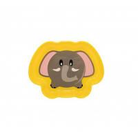 Тарелочка детская глубокая «Любимые зверята», BabyTeam 370 мл, 6+