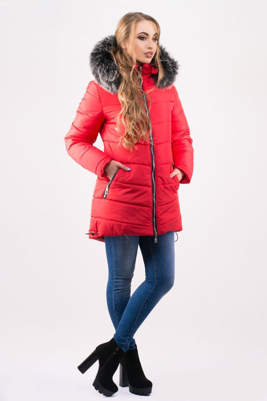 """Зимняя теплая женская куртка """"Бриана Ред"""""""