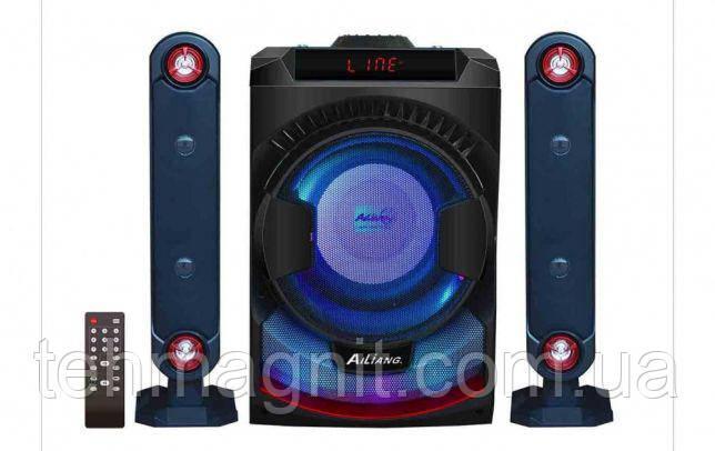 Акустика мощная Музыкальный центр сабвуфер с USB караоке радио Ailiang UF-1010-DT ( Реплика )