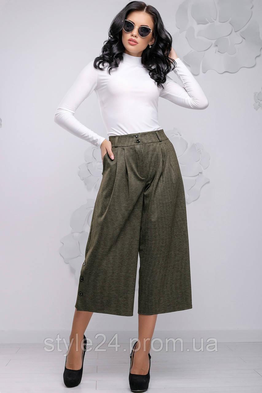 ЖІночі вільні штани довжиною 3\4.Р-ри 44-50