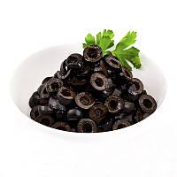 Маслины резанные (Чёрные оливки)TM Del Gusto 4кг, фото 2