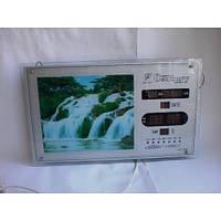 Картина водопад №1 часы (5 мод)