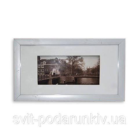 Картина черно-белая 18*33 B-78 (2 цвета черный, белый)