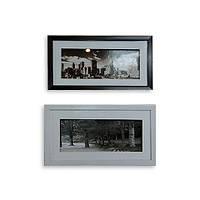 Картина ретро 23*43 B-80 (2 цвета черный, белый)